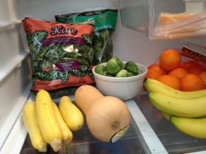 Take a peek at my produce.