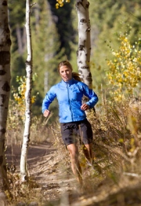 Melissa Arnot ran four days a week on trails near her Colorado home to train for the Catalina Island Conservancy Marathon. (Photo Credit: Mark Oliver)