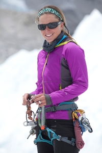 Lucky number 4! Mountain climber Melissa Arnot placed fourth in her age group in The Catalina Island Conservancy Marathon, and she's been to the top of Mt. Everest four times. (Photo Credit: Kent Harvey/Eddie Bauer)