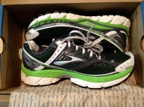 Remember when I got these Brooks Glycerin 10s? They had so much pavement potential!